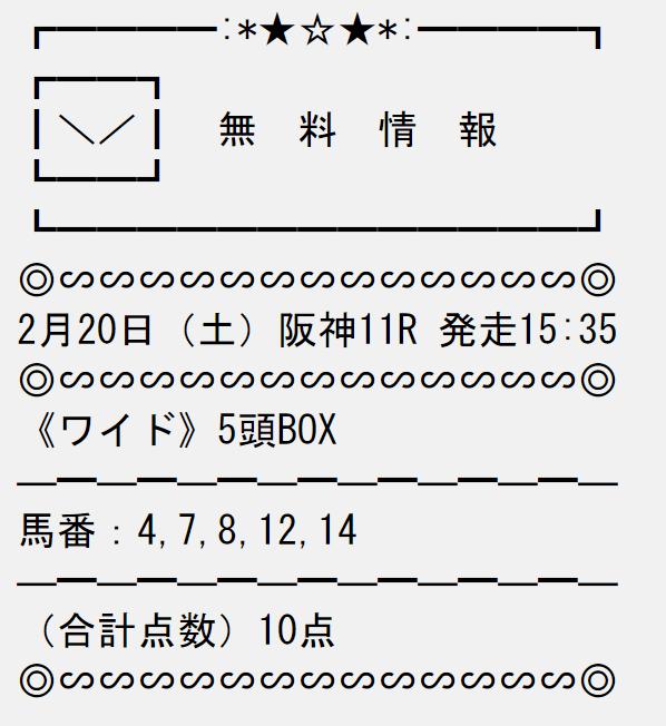 投稿うまライブ_無料情報_20210220