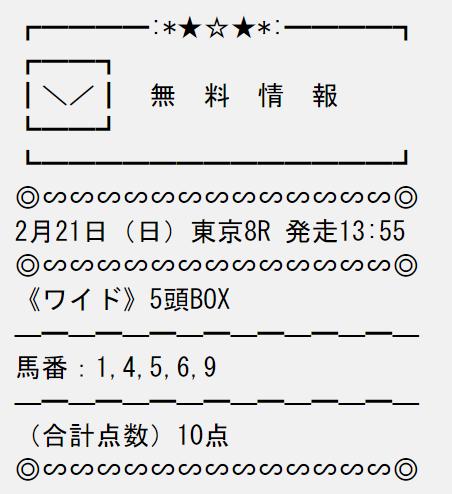 投稿うまライブ_無料情報_20210221