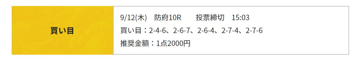 競輪RIDE_無料予想_20190912