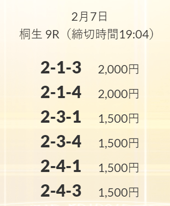 皇艇_無料情報_2021年2月7日
