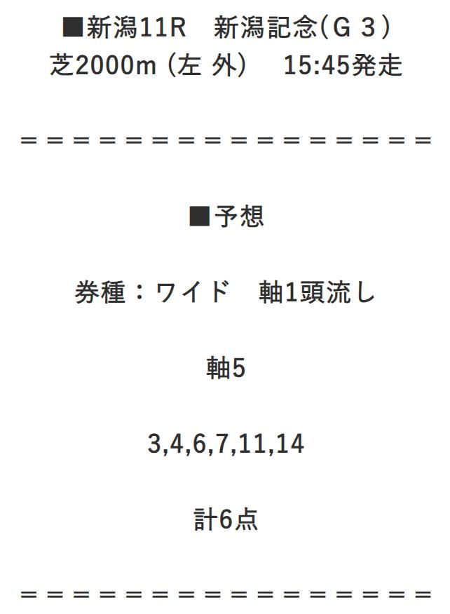 ダビコレ_無料予想_9月6日