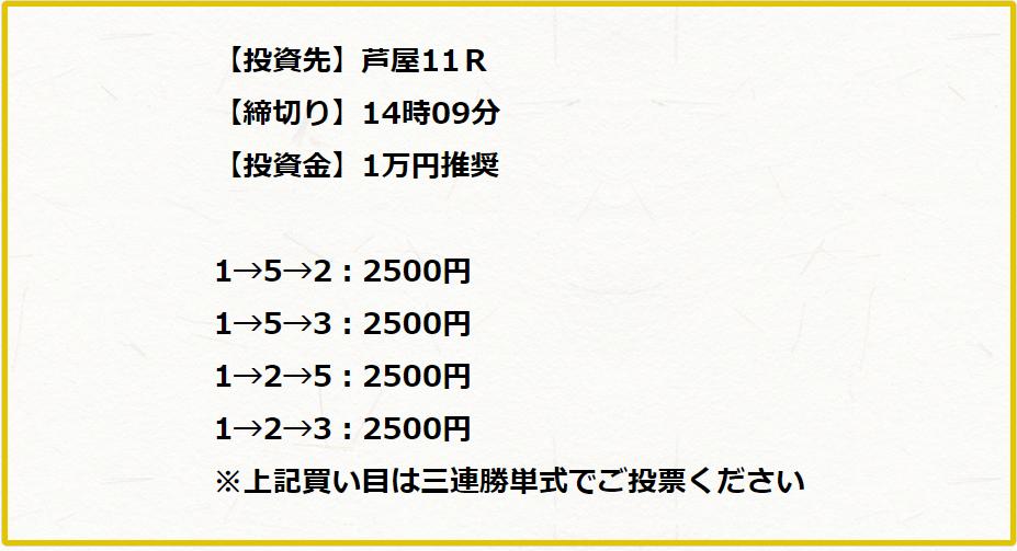 宝船_無料予想_芦屋!!R_5月22日