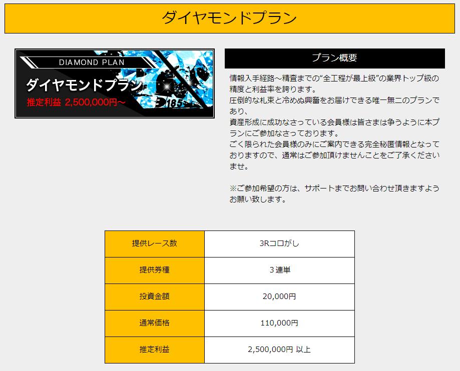 競艇魂_有料情報_ダイヤモンドプラン