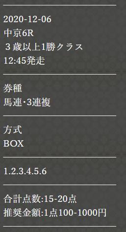 P4_無料予想_12月6日_中京競馬場6R