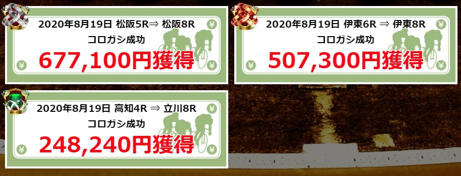 日本競輪投資会_的中実績