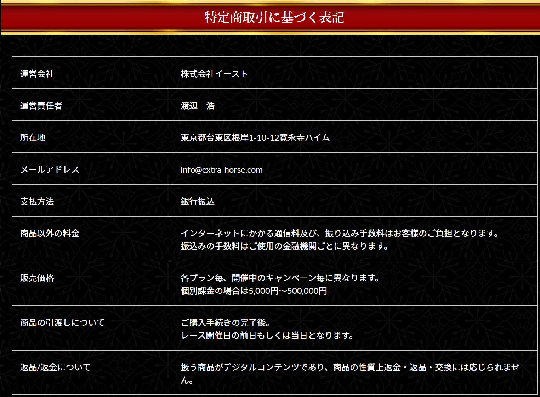 エキストラ_運営者情報