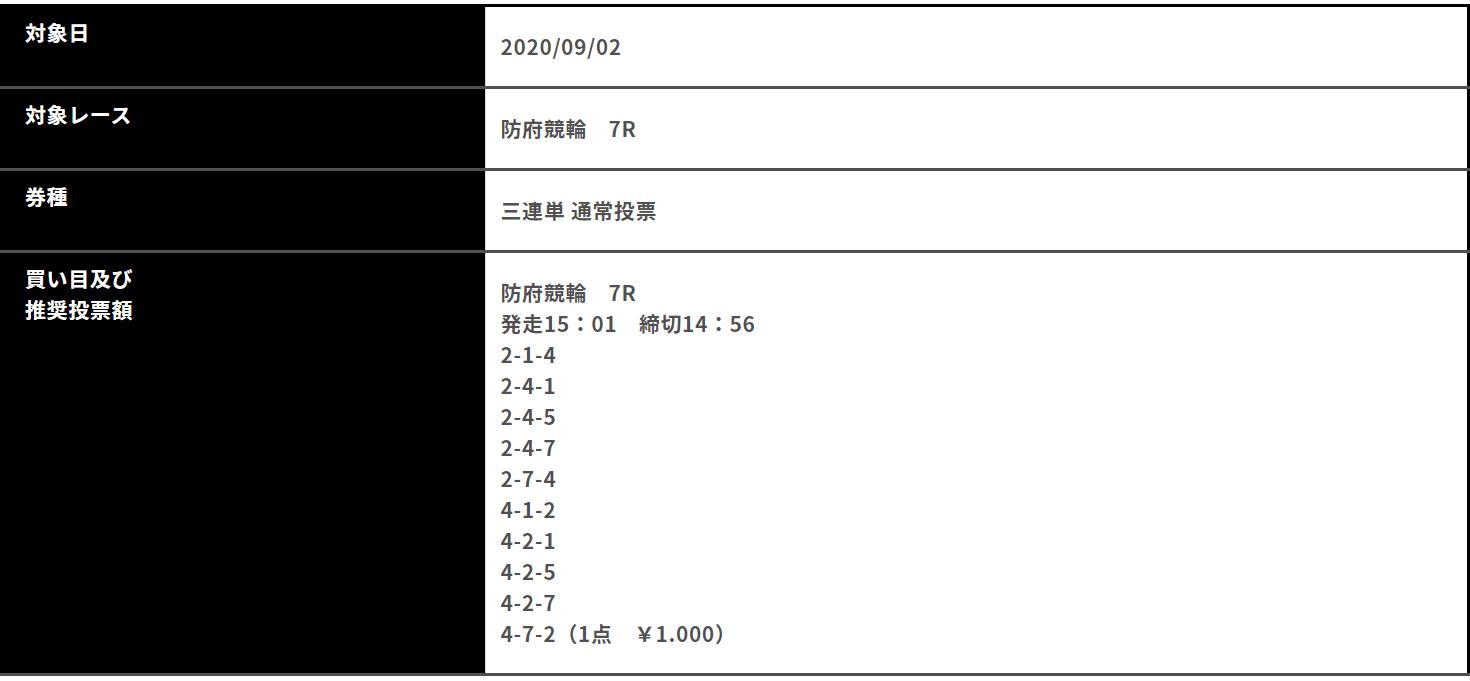 競輪エボルブ_無料予想_9月2日_第20回石村正利賞