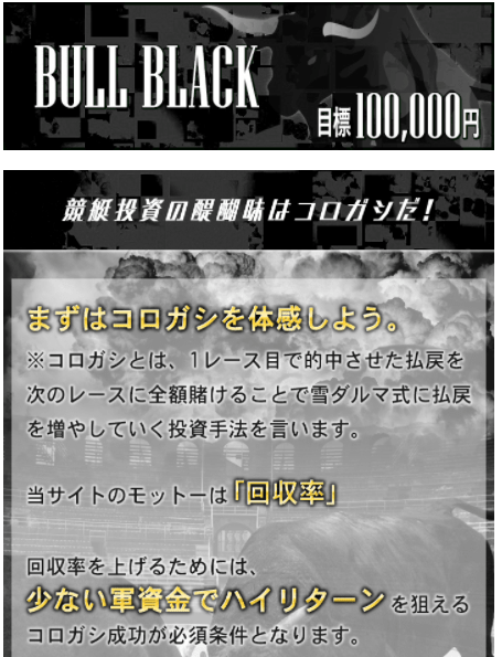 競艇ブル_有料予想_ブルブラック
