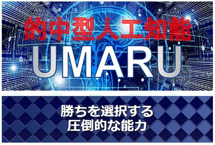 うまっぷ_有料情報_的中型人工知能 UMARU