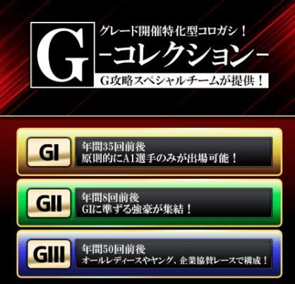 ボートキングダム_有料予想_Gコレクション