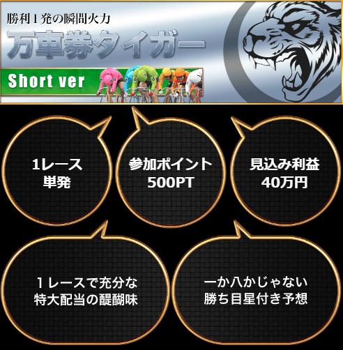 競輪クラブ虎の穴_有料予想_万車券タイガー_short