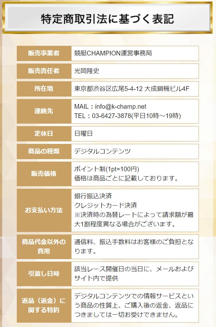 競艇チャンピオン_運営会社