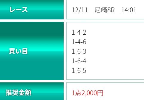 シックスボート_無料予想_12月11日