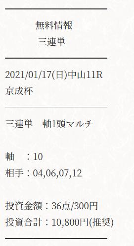 ATARU_無料情報_2021年1月17日_中山11R