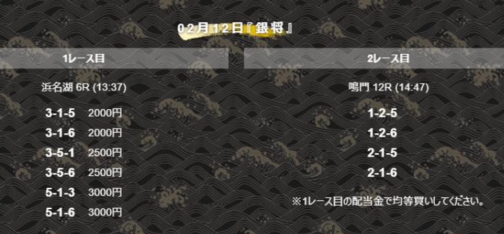 舟王_有料情報_銀将_20210212