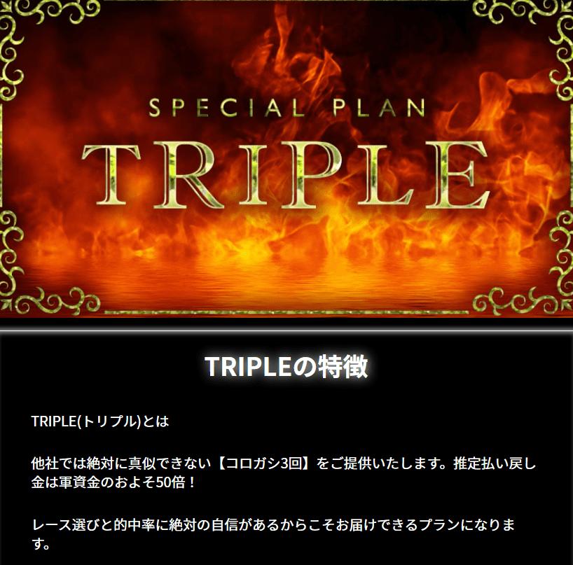 リアルタイムボート_有料情報_TRIPLE