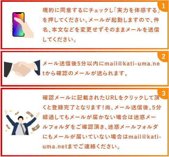 カチウマ_登録フロー