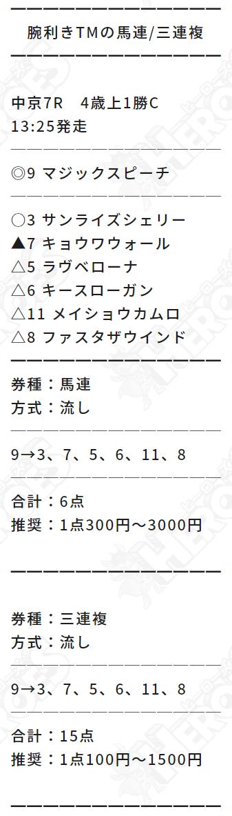 ヒーローズ_無料情報_20210530_三連複