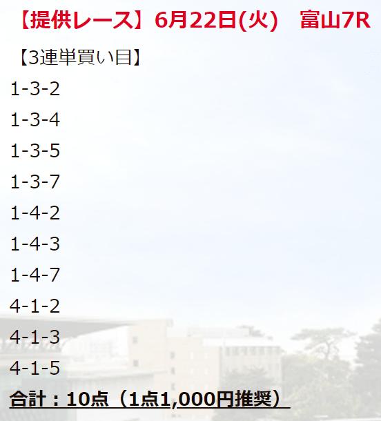 競輪ファンファーレ_無料情報_20210622