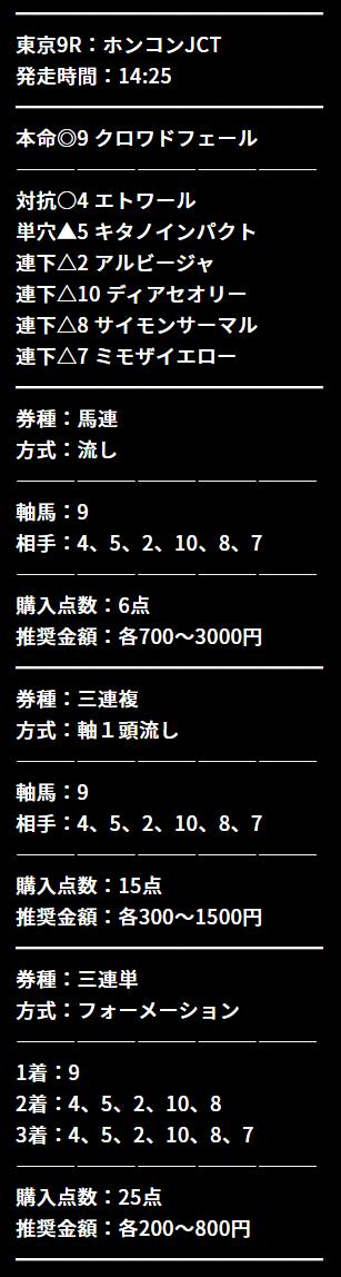 馬喰商會_無料情報_20210606_三連複