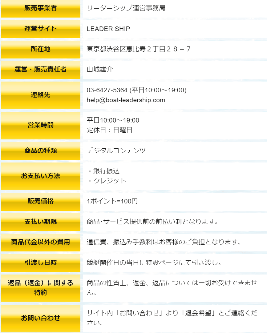 リーダーシップ_運営情報