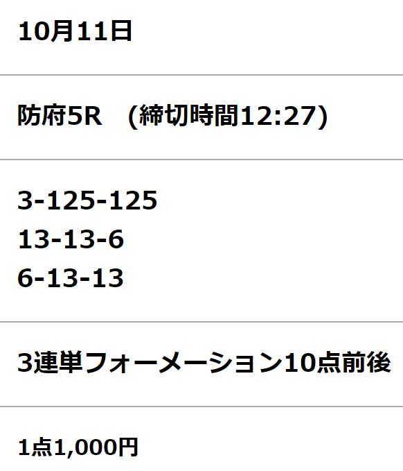 ケイリン宝箱_無料情報_20211011