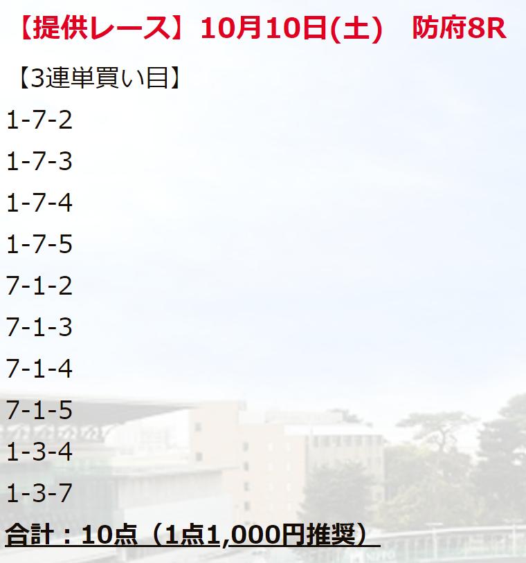 競輪ファンファーレ_無料情報_20211010